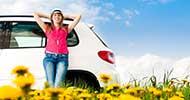 op vakantie met de auto (shutterstock / Konstantin Yolshin)